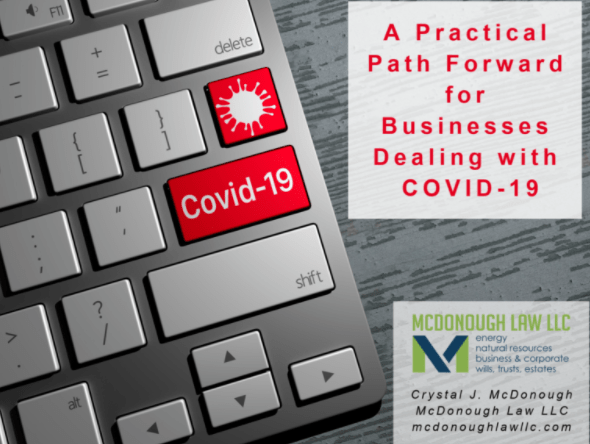 A Practical Path Forward for Businesses Dealing with COVID-19