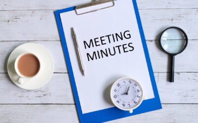 Meeting Minutes: What They Are and Why Every Business Needs Them
