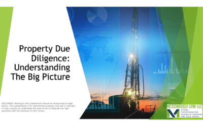 Property Due Diligence: Going Beyond Title